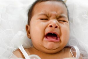 Baby Screaming In Pain From Gas